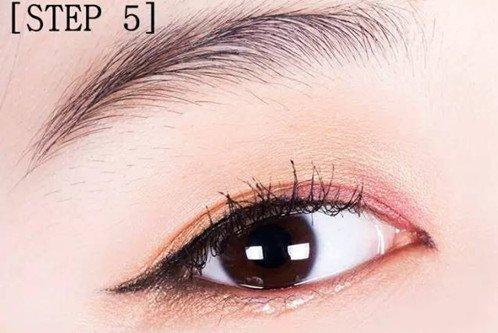 iven分享:内双眼皮眼妆画法